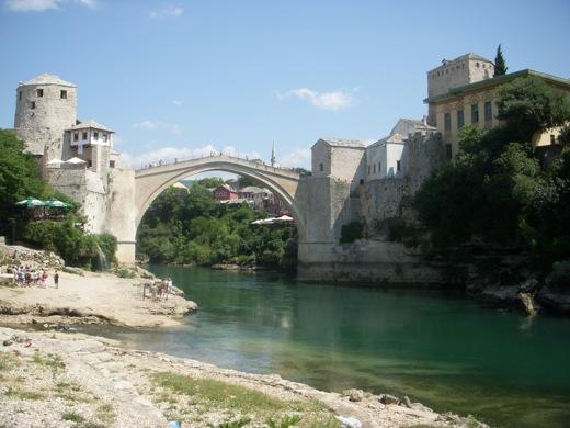 Girls in Mostar, Federation of Bosnia and Herzegovina